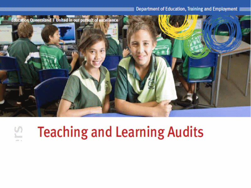 Rossville SS 2014 Teaching and Learning Audit